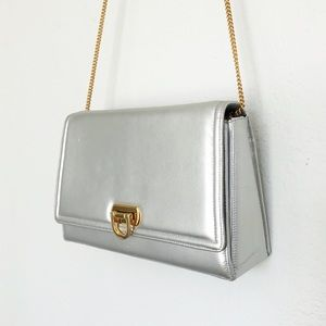 VINTAGE [Frenchy of California] Silver Purse